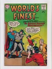 World's Finest #136 Batman and Superman Silver Age DC Comics 1963