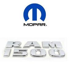 2012-2017 Dodge Ram 1500 Chrome Decal Nameplate Emblem OEM NEW MOPAR 68149702AA