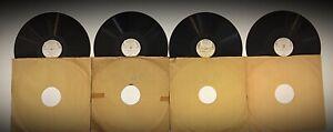 4 vinyles 78T L'ANTHOLOGIE SONORE MOZART par CLOEZ - 122 - 123 - 124 - 125
