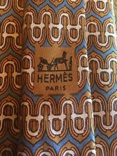 Hermes Paris Men's Neck Tie #826 EA 100% Silk Made In France Rare