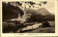 Lourdes Frankreich France ~1920/30 Basilique Gave Basilika Kirche Kathedrale Dom