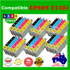 24x T138 138 T1381 1381 ink cartridge For Epson WF3520 WF3530 WF3540 WF7510 7520