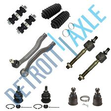 Upper Lower Ball Joints Inner Outer Tie Rods 1993 1994 1995 1996-97 Honda Accord