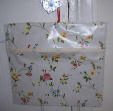 PEG BAG Oilcloth pvc floral Homemade Birthday Gift  summer flowers design  R