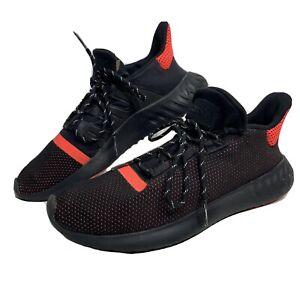 Adidas Originals Tubular Dusk Men's Sz 11 Running Shoes (AQ1189) Black/Orange