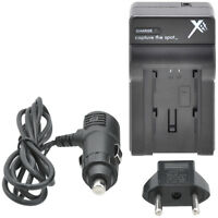 Worldwide AC/DC Travel Charger 110-220v for Olympus Li-90B - Brand New
