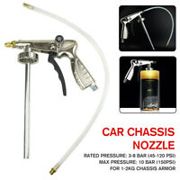 1/4'' Car Underbody Coating Spray Gun Underseal Schutz Under Body Air Waxoy