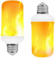 5W LED Flame Effect Light Bulb with Gravity Sensor E27 Flame Light