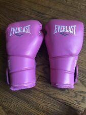 Everlast Training Boxing Gloves Pink Women's Elite Protex-2 Size L/Xl 12 Oz