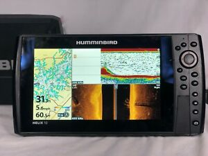 Humminbird Helix 10 SI GPS W/ Power Cable & Sun Cover