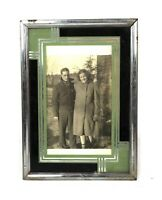 Unique Vintage Mid Century Modern Art Deco Design Picture Photo Frame