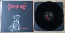 Damnation LP! Rar! Hellhammer Entombed Nihilist Bathory Asphyx Autopsy Obituary
