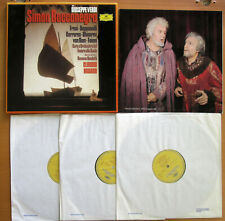 DG 2740 169 Verdi Simon Boccanegra Freni Claudio Abbado 3xLP NEAR MINT Box Set