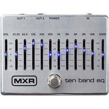 MXR M108S 10-Band Graphic EQ Guitar Effects Pedal +Picks