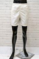 Costume Uomo JECKERSON Taglia XL Mare Piscina Bagno Shorts Pantaloncino Bianco