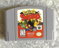 N64 Pokemon Snap Nintendo 64 Authentic Cartridge Cleaned & TESTED Free Ship! VG