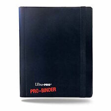 Pro Binder 4 Pocket Ultra Pro Trading Card Folder - Black - Holds 160 Cards