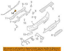 NISSAN OEM Rear Bumper-Bumper Cover Clip 85284AD000