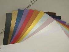 Pearlescent Shimmer Paper 125gsm 2-Sided 12 Colours to Choose A5 or A6