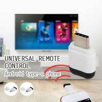Micro USB TypeC Phone IR Infrared Adapter Transmitter Universal Remote Control o