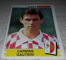 FIGURINA CALCIATORI PANINI 1994/95 BARI GAUTIERI ALBUM 1995