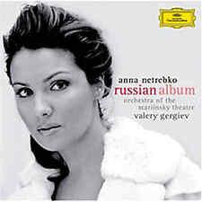 "ANNA NETREBKO ""RUSSIAN ALBUM"" MARIINSKY GERGIEV RARE UKR ORIGINAL CD BRAND NEW!!"