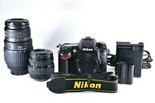 Nikon D7000 16.2MP Digital SLR Camera With Sigma 18-50mm & 70-300mm Zoom Lenses