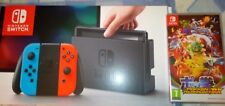 Nintendo Switch Bundle Neon JOY CONS CON POKKEN DX gioco, garantita per Natale