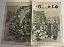 Le petit parisien 1896 405 cimetière père lachaise