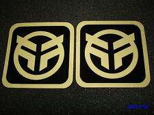 2 AUTHENTIC FEDERAL BMX BICYCLE FRAME STICKERS / DECALS #29 AUFKLEBER