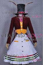 Alice Madness Returns Cosplay Games Halloween Costume Alice Rabbit Formal Dress