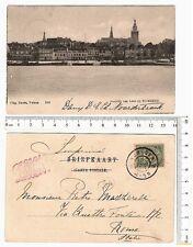 Nauta – Velsen - Gezich van Lent a Nimega - f/p viaggiata 1904 - 19563