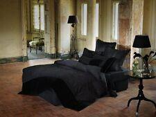 Linen House Isadora Black Double Bed Quilt Doona Cover Set