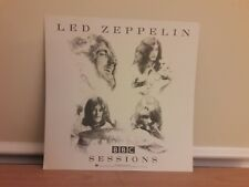 Led Zeppelin Bbc Sessions Poster 2-Sided Poster Flat 1997 Promo 12x12