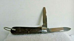 "Vintage Klein Tools Model ""EE"" ELECTRICIAN POCKET KNIFE Military Lineman Mint"
