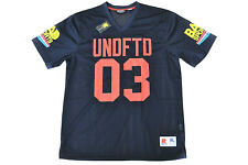 UNDEFEATED - BAD SPORTS JERSEY - NAVY UNDFTD - 100% AUTHENTIC