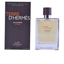 Perfume Hermes unisex TERRE D'HERMÈS EAU INTENSE VÉTIVER edp vaporizador 100 ml