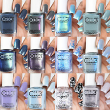Color Club Retrograde Rising Collection - Creme Shimmer Glitter Nail Polish 15ml