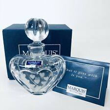 Marquis by Waterford Romance Collection ~ Mini-Heart Perfume Bottle
