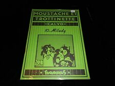Calvo : Moustache et Trottinette 10 : Milady EO Futuropolis 1978