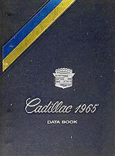 1965 Cadillac Data Book Original Dealer Showroom Album Facts for all models