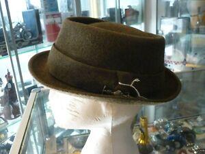 VINTAGE BORSALINO ALESSANDRIA FUR HAT / GRAND PRIX PARIS 1900 / SIZE 6 1/2