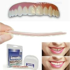 Cosmetic Teeth Snap On Large Instant Smile Secure Veneers False Dental Natural