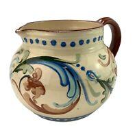 Vintage Devonshire Potteries Ltd Red Ware Jug Early Scroll Design Bob Birbeck