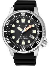 Citizen Promaster Sea Diving Watch Men Watch BN0150-10E Analogue Rubber Black
