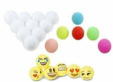 Totem World 100 Assorted Beer Pong Balls - 6 Free Emoji Ping-Pong Balls -...