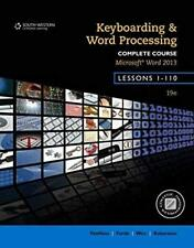 Keyboarding and Word Processing Complete Course Lessons 1-110 by Susie VanHuss