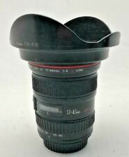 Canon L 17-40mm f4 Pro Series WIDE ANGLE ZOOM LENS