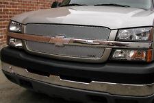 Grille-MX Upper 2pc Insert GRILLCRAFT fits 03-05 Chevrolet Silverado 1500