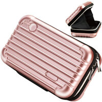 E-books U5 Makeup Overnight Travel Carrying Cosmetic Hard Bag Case - Rose Gold